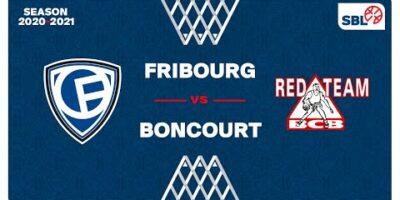 SB League - Day 26: FRIBOURG vs. BONCOURT