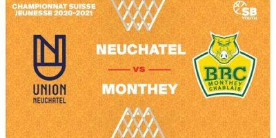 CSJC U20M : NEUCHÂTEL vs. MONTHEY