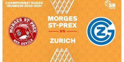 U17 NATIONAL M - Day 7: MORGES vs. ZÜRICH
