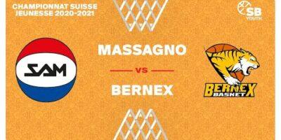 U17 NATIONAL M - Day 7: MASSAGNO vs. BERNEX