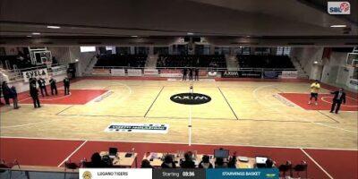 Lugano Tigers vs. Starwings Basket - Game Highlights