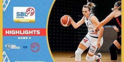 SBL Women Playoffs Highlights 20/21 - BCF Elfic Fribourg vs. BC Winterthur