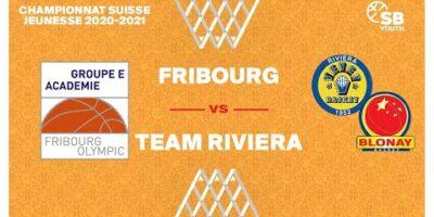 U17 NATIONAL M - Day 12: FRIBOURG vs. TEAM RIVIERA