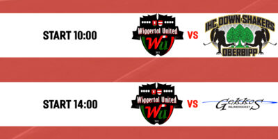 Novizen: Wiggertal United - Gekkos Inlinehockey