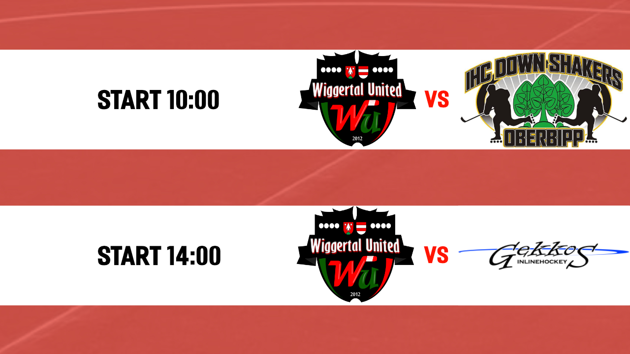 Novizen: Wiggertal United – Gekkos Inlinehockey