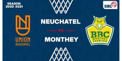 SB League - Day 26: NEUCHATEL vs. MONTHEY