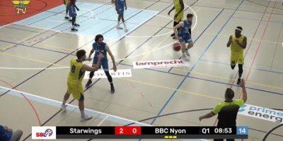 Starwings Basket vs. BBC Nyon - Game Highlights