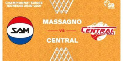 U17 NATIONAL M - Day 6: MASSAGNO vs. SWISS CENTRAL