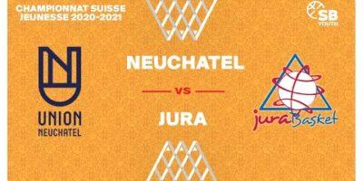 U17 NATIONAL M - Day 4: NEUCHÂTEL vs. JURA BASKET