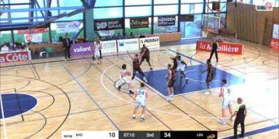 BBC Nyon vs. Lions de Genève - Game Highlights