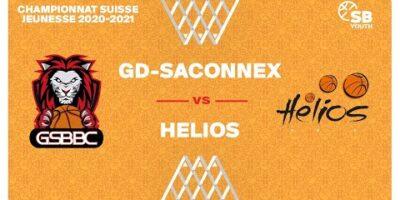 CSJC U15F : GRAND-SACONNEX vs. HÉLIOS