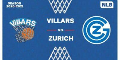 NLB - Day 3: VILLARS vs. ZURICH