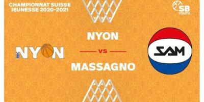 U17 NATIONAL M - Day 9: NYON vs. MASSAGNO