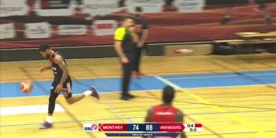 BBC Monthey-Chablais vs. Union Neuchâtel Basket - Game Highlights
