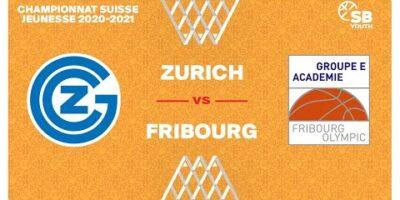 U17 NATIONAL M - Day 9: ZURICH vs. FRIBOURG