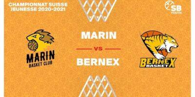 CSJC U15M : MARIN vs. BERNEX