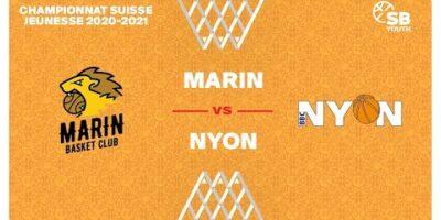 CSJC U13M : MARIN vs. NYON