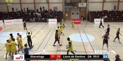 Starwings Basket vs. Lions de Genève - Game Highlights