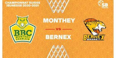 CSJC U20M : MONTHEY vs. BERNEX