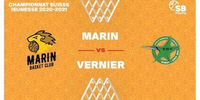 CSJC U15M : MARIN vs. VERNIER