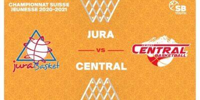 U17 NATIONAL M - Day 6: JURA BASKET vs. SWISS CENTRAL