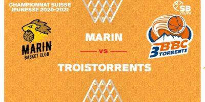 CSJC U13F : MARIN vs. TROISTORRENTS