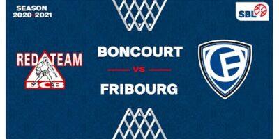 SB League - Day : BONCOURT vs. FRIBOURG