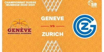 U17 NATIONAL M - Day 8: GENÈVE vs. ZÜRICH