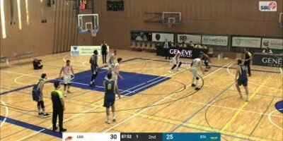 Lions de Genève vs. Starwings Basket - Game Highlights