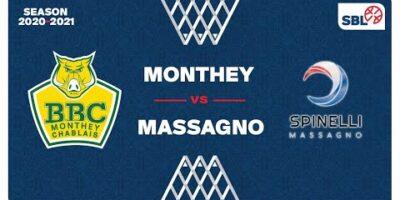 SB League - Day 27: MONTHEY vs. MASSAGNO