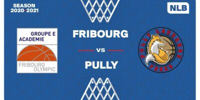NLB Men - Playoffs Final 3-4 : FRIBOURG vs. PULLY