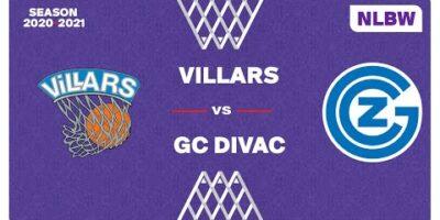 NLB Women - Playoffs 1/4 Finals : VILLARS vs. GC DIVAC