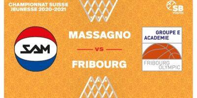 U17 NATIONAL M - Day 13: MASSAGNO vs. FRIBOURG