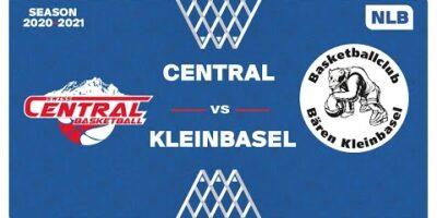 NLB Men - Playoffs 1/4 Finals : CENTRAL vs. KLEINBASEL