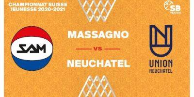 U17 NATIONAL M - Day 12: MASSAGNO vs. NEUCHÂTEL
