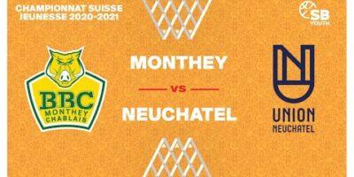 CSJC U20M : MONTHEY vs. NEUCHÂTEL