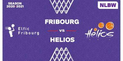 NLB Women - Playoffs 1/4 Finals : FRIBOURG vs. HÉLIOS