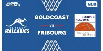 NLB Men - Playoffs 1/2 Finals : GOLDCOAST vs. FRIBOURG