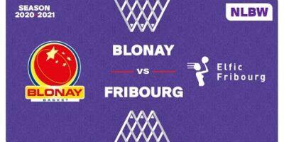 NLB Women - Day 8: BLONAY vs. FRIBOURG