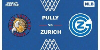 NLB Men - Playoffs 1/4 Finals : PULLY vs. ZÜRICH
