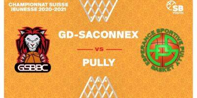 CSJC U15F : GRAND SACONNEX vs. PULLY