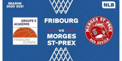 NLB Men - Playoffs 1/4 Finals : FRIBOURG vs. MORGES