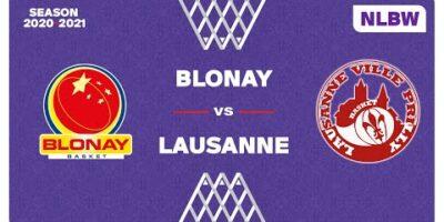 NLB Women - Playoffs Final 3-4 : BLONAY vs. LAUSANNE