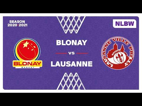 NLB Women – Playoffs Final 3-4 : BLONAY vs. LAUSANNE