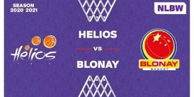 NLB Women - Playoffs 1/2 Finals : HELIOS vs. BLONAY
