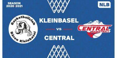 NLB Men - Playoffs 1/4 Finals : KLEINBASEL vs. SWISS CENTRAL