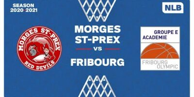 NLB Men - Playoffs 1/4 Finals : MORGES vs. FRIBOURG