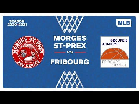 NLB Men – Playoffs 1/4 Finals : MORGES vs. FRIBOURG