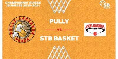 CSJC U20M : PULLY vs. STB BASKET