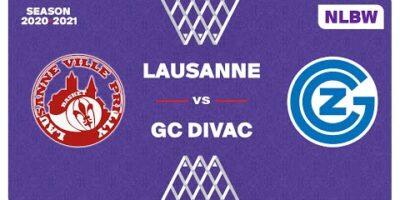 NLB Women - Playoffs 1/2 Finals : LAUSANNE-VILLE vs. GC-DIVAC